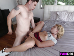 Sultry Stepsis Zelda Morrison Gets Slammed Good