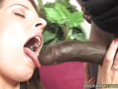 Interracial Anal Sex - Mona Lee