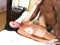 Mature Babe Karen Kougar Big Tits Against BBC