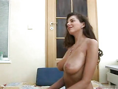 Taking australian amateur beauty