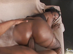 Bootylicious Black Gal Fucked in the Ass