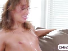 Zoey Monroe finds squirting partner in stranger Christy Love