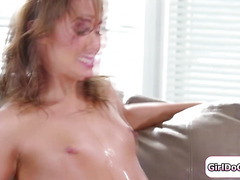 Zoey Monroe finds squirting partner in stranger Christy Love