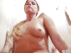 India Summer riding her milf pussy on top of stepsons cock