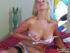 EuropeMature Horny and wild mature lady