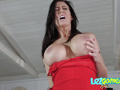 Hot Lacey gets pussy sucked and fucked by her hot bff