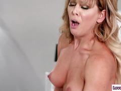 Athena Faris seduces her stepmom to fuck her