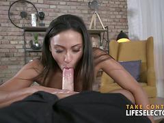 Neglected wife Cassie Del Isla gets fucked POV