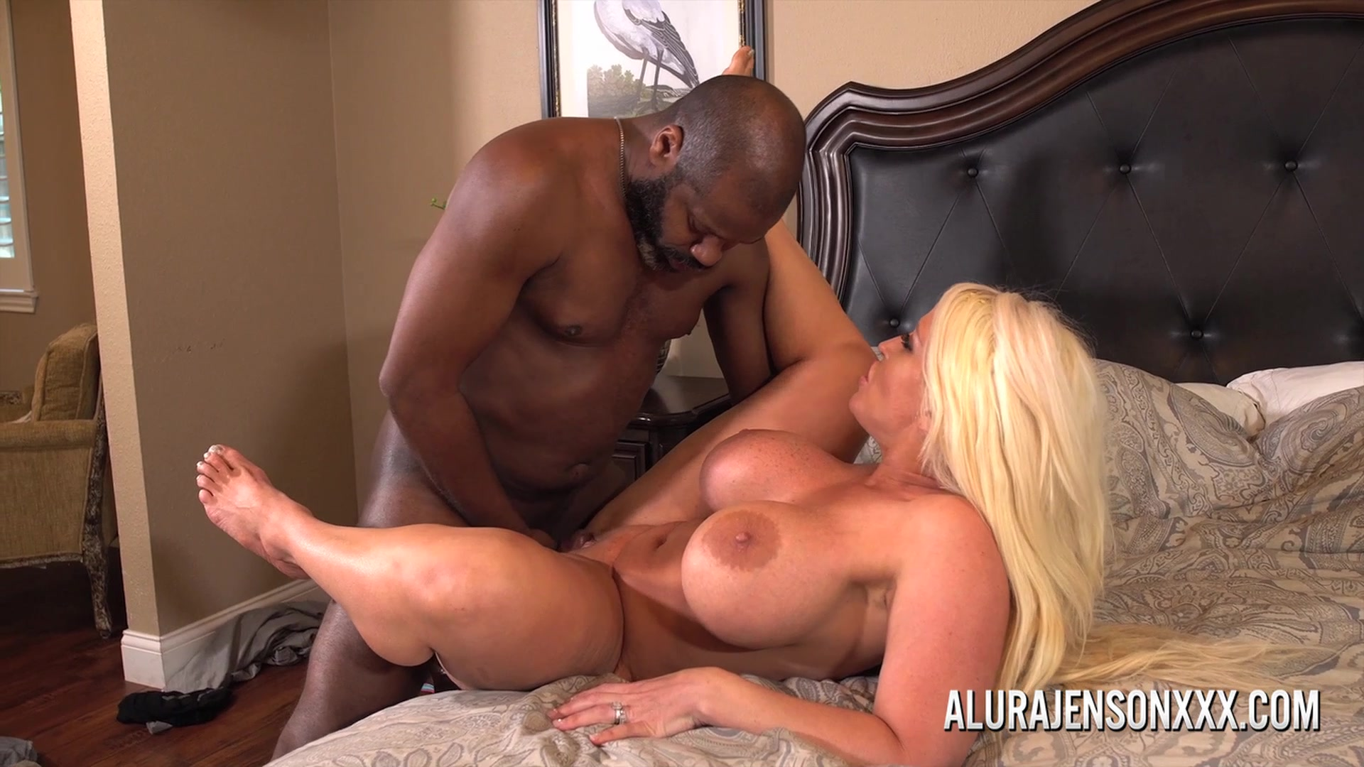 Alura Jenson Interracial Dp Porn busty milf alura jenson poundeda big black cock