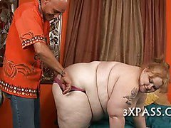 Unforgettable chubby blow