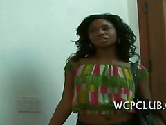 Black woman gets drilled