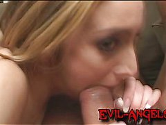 Kelly Wells brutally double anal fucked until her ass is gaping wide open