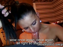Lustful amateur barmaid anal penetrated and creampied