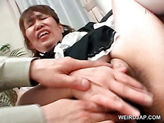 Asian foursome with mature maidens fucked hard
