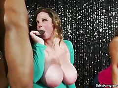Horny Ladies Fight For Stripper Cock