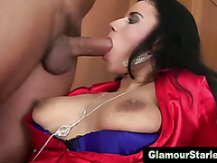 Sexy clothed euro fetish bitch