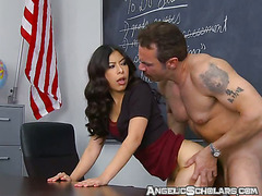 Teen Fucks Her Teacher For A Good Grade