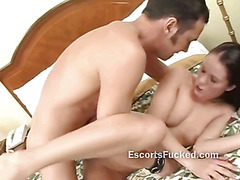 Real escort first time fuck on cam in a cheap hotel