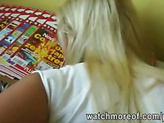 Cute bookworm chick gets her first anal experience in the library