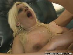 Blonde Slut Gets Her Ass Full Of Cock