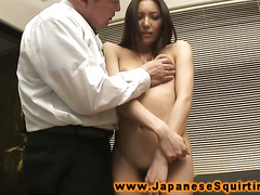 Asian squirters toys from her horny stud eager to make her cum