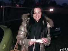 Amateur european hottie Tereza gets banged for cash