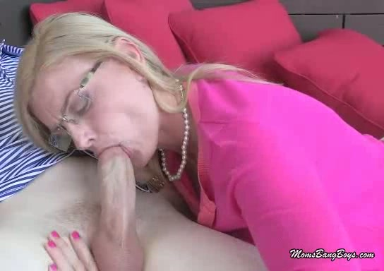 Milf Sucks Teen Cock