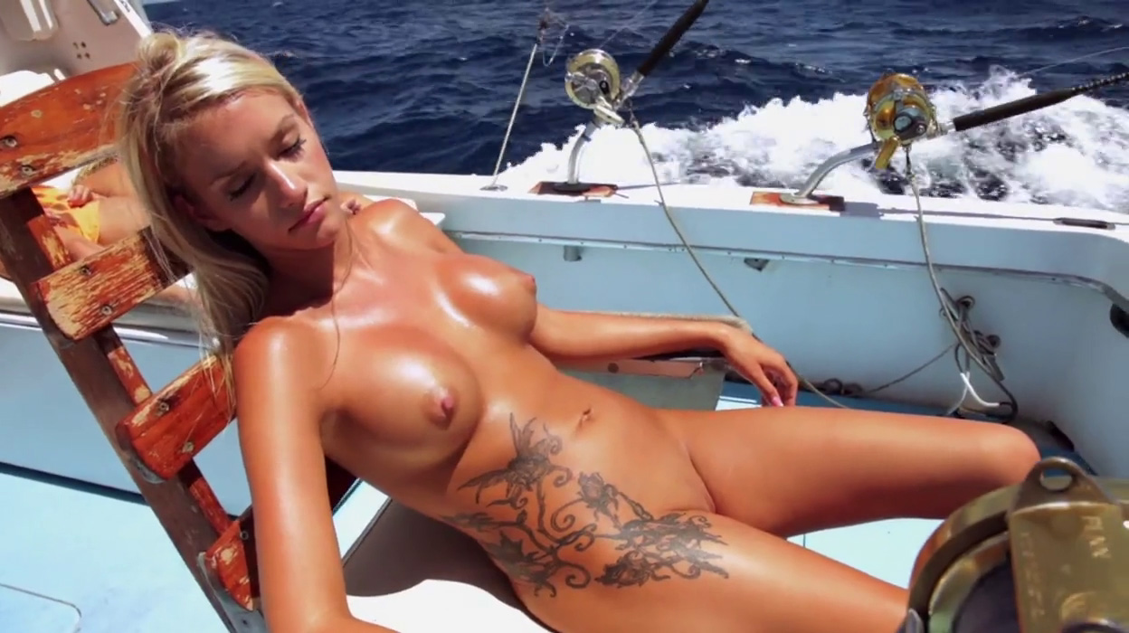 Fishing nude girls