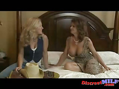 Two MILFs get nasty with each other part 1 of 2