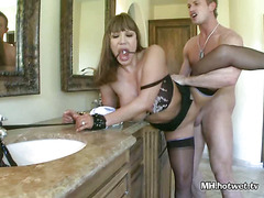 Ava Devine Chained And Fucked