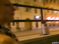 Pretty amateur Czech slut Tonya in boots ass fucked for cash