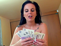 Lovely euro sweetie Tereza Becker gets picked up from the parking lot and fucked