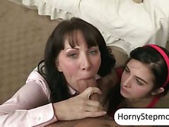 Rayveness and Zoey Kush fucked on turns with a thick pecker