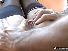 Tied MILFs Pussy Gets Tool
