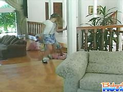 Babysitter Kyla part 1