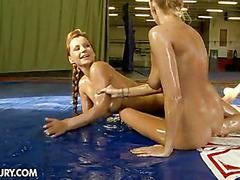 Nude Fight Club Presents: Dorothy Black vs Clara G.