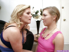 Lesbo Teen Ally Kay Gets Licked & Fingered part 3