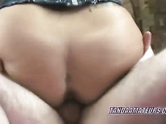 Tattooed Lexxi takes some dick in her sweet twat