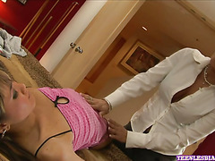 Asian Kitty Gets Licked & Finger Fucked part 1