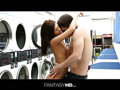 Laundromat Seduction