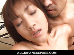Itsuka furry little pussy fingered until she cums hard