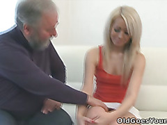 Nona is a dirty bitch who loves nothing more than to wind up old men like this one