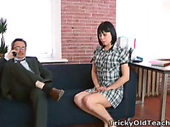 Sonia wants to feel her teachers cum inside her mouth and tongue.