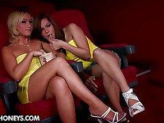 Lez fun at the movies