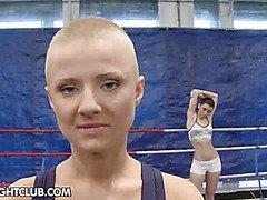 NudeFightClub presents Betty Saint vs. Sinead