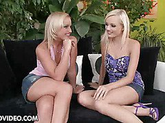 Lesbian strap-on