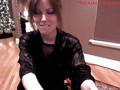 Hot Webcam Babe Rides Dildo Rocking Chair