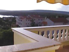 Very Hot Amateur Couple Fucking On Balcony