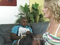 Babe offers herself to black cock as she is bored of white dick