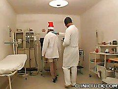 Sexy Nurse Ass Tease